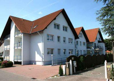 Fassadensanierung von Wohneinheiten