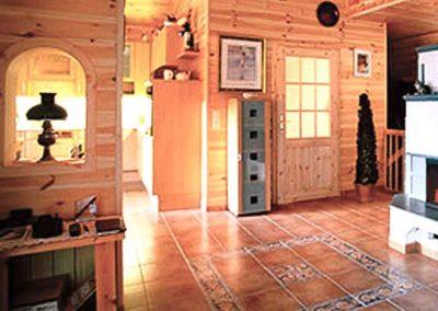 Holzschutz im Wohnraum mit Holzwänden