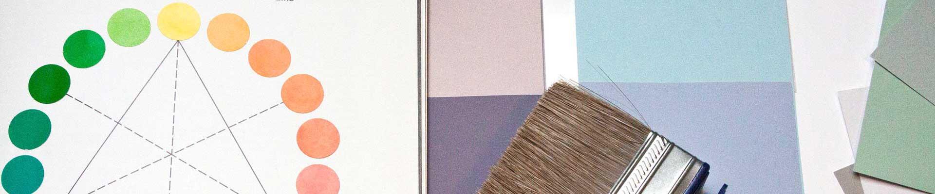 Farbkreis und Farbtabellen für den Innenanstrich